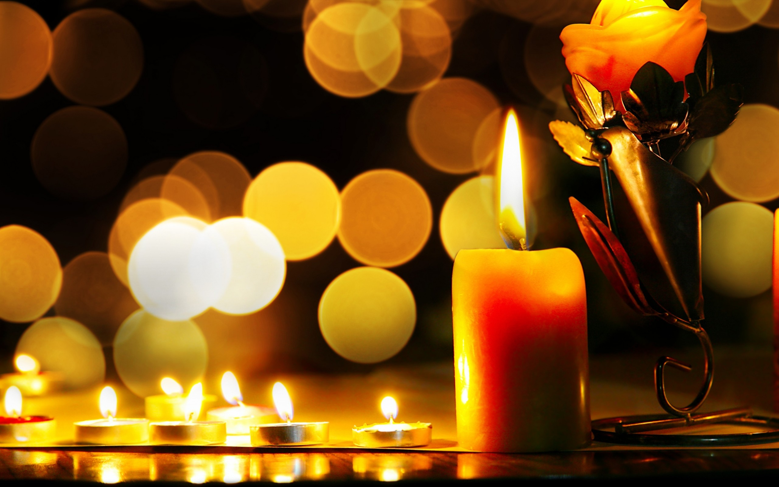 Candle Full Hd Wallpaper And Background 2560x1600 Id