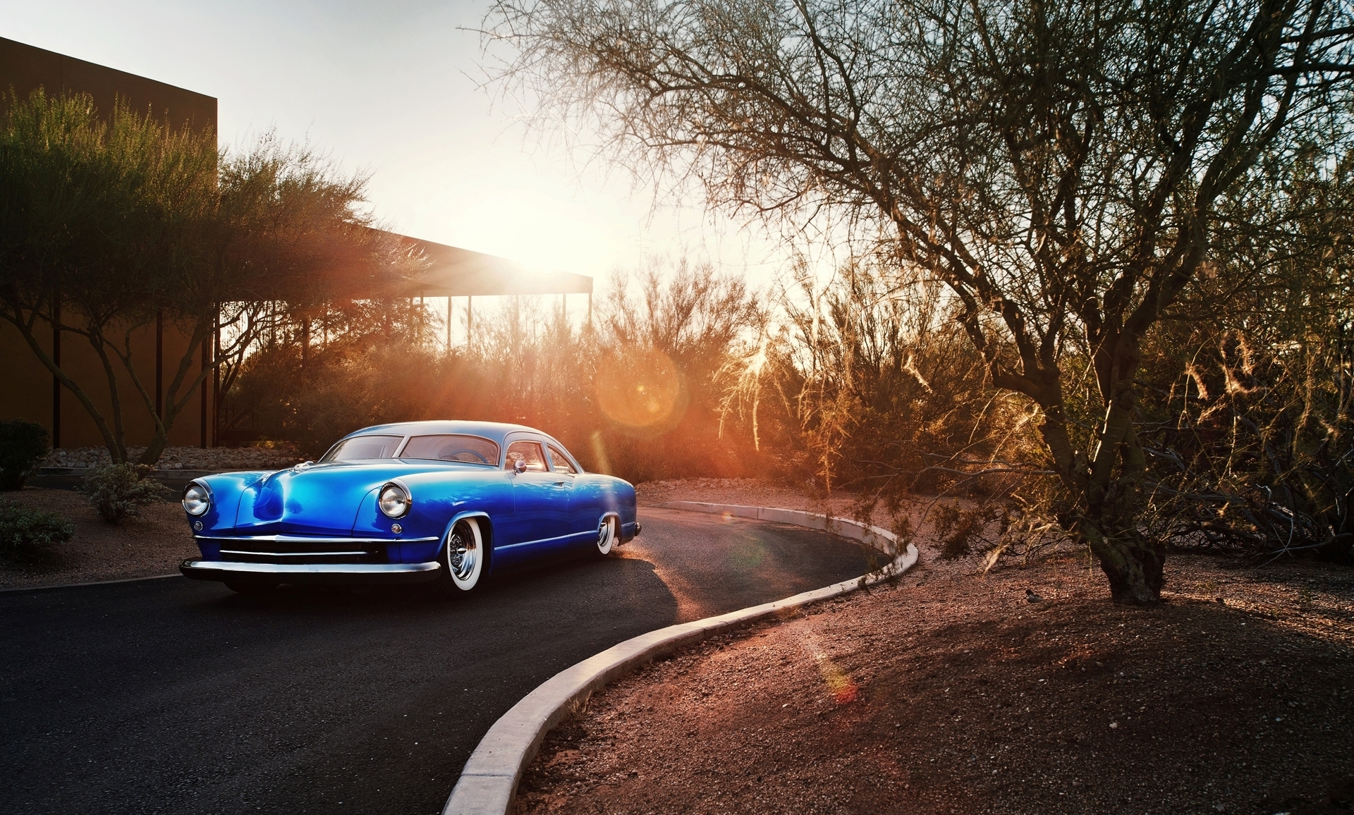 1951 kaiser dragon coupe full hd wallpaper and background image