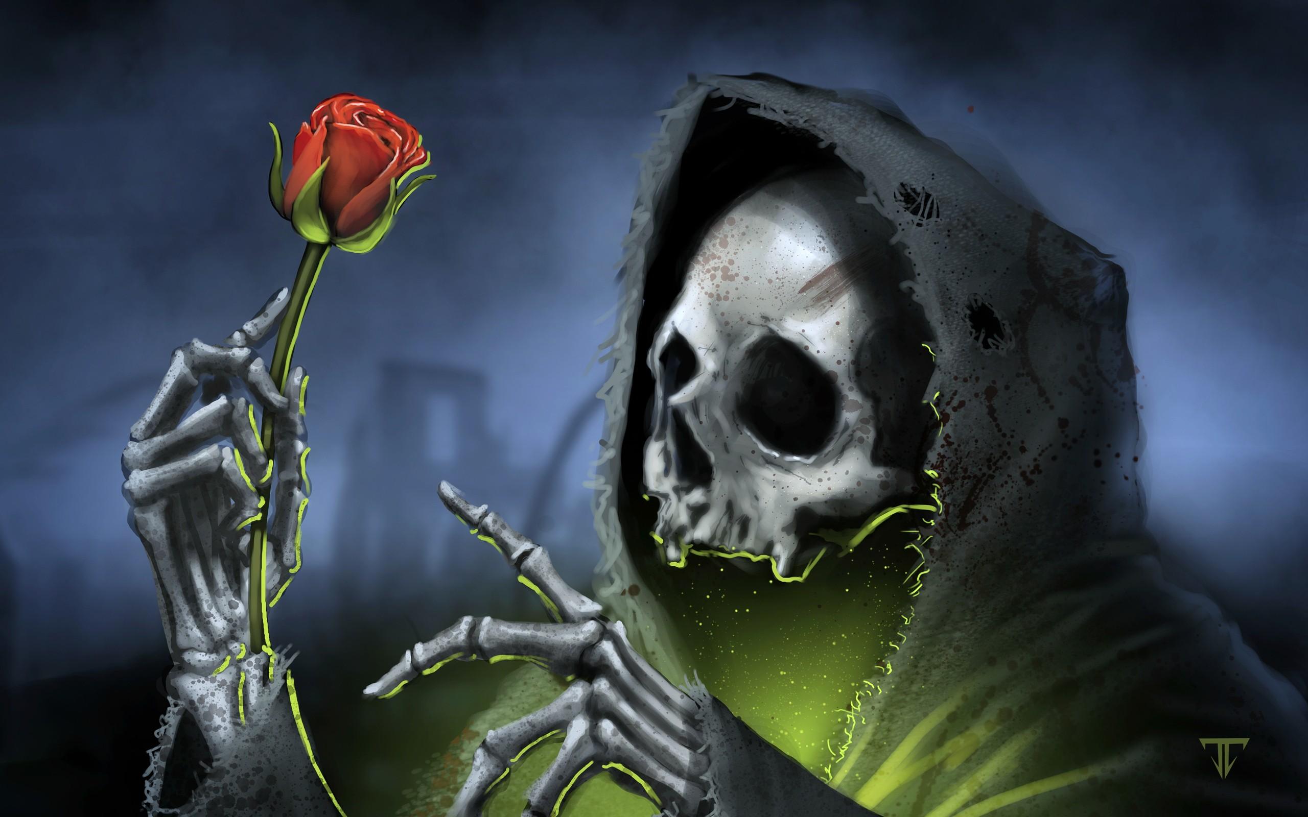 download wallpapers 2560x1600 skulls - photo #18