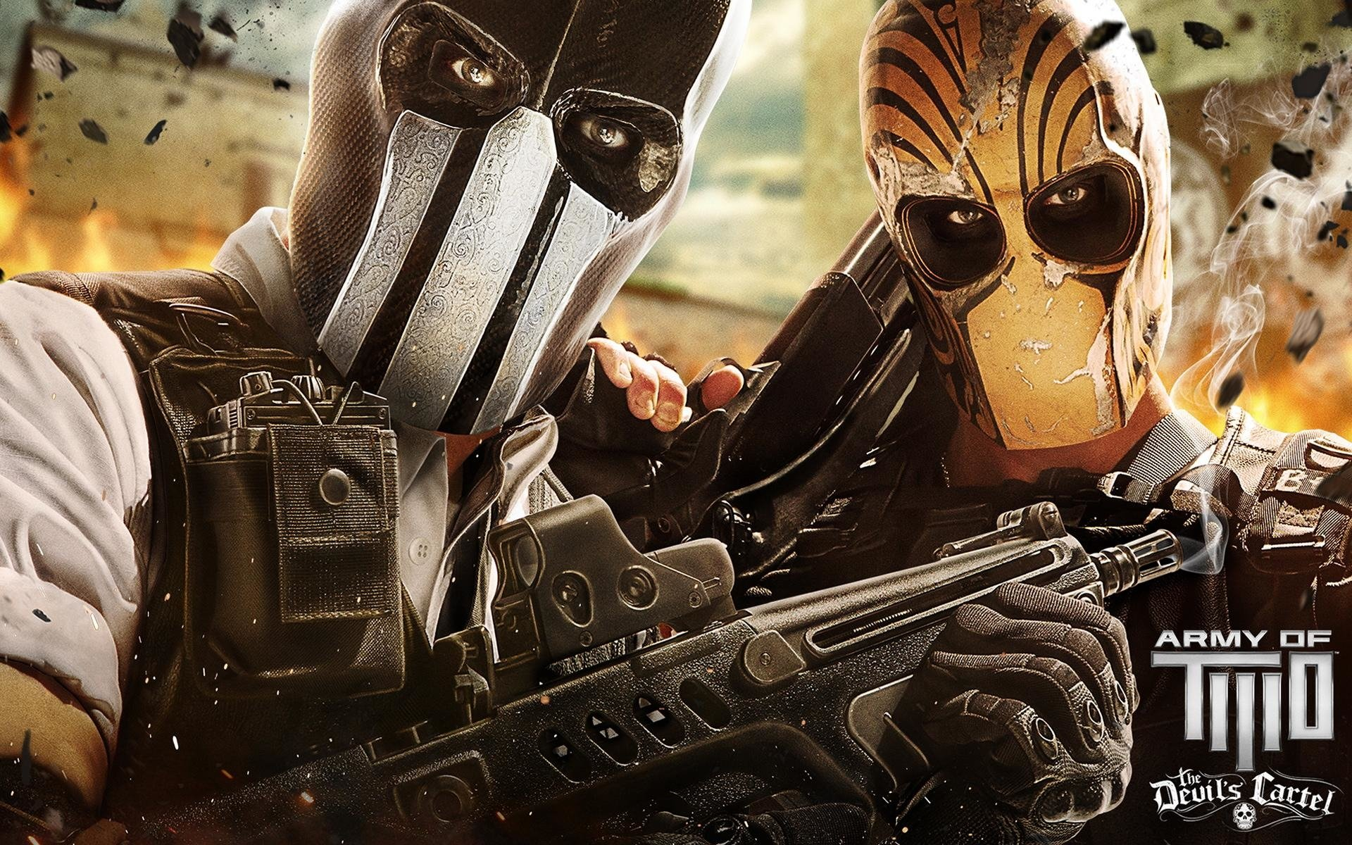Army Of Two: The Devil's Cartel HD Wallpaper