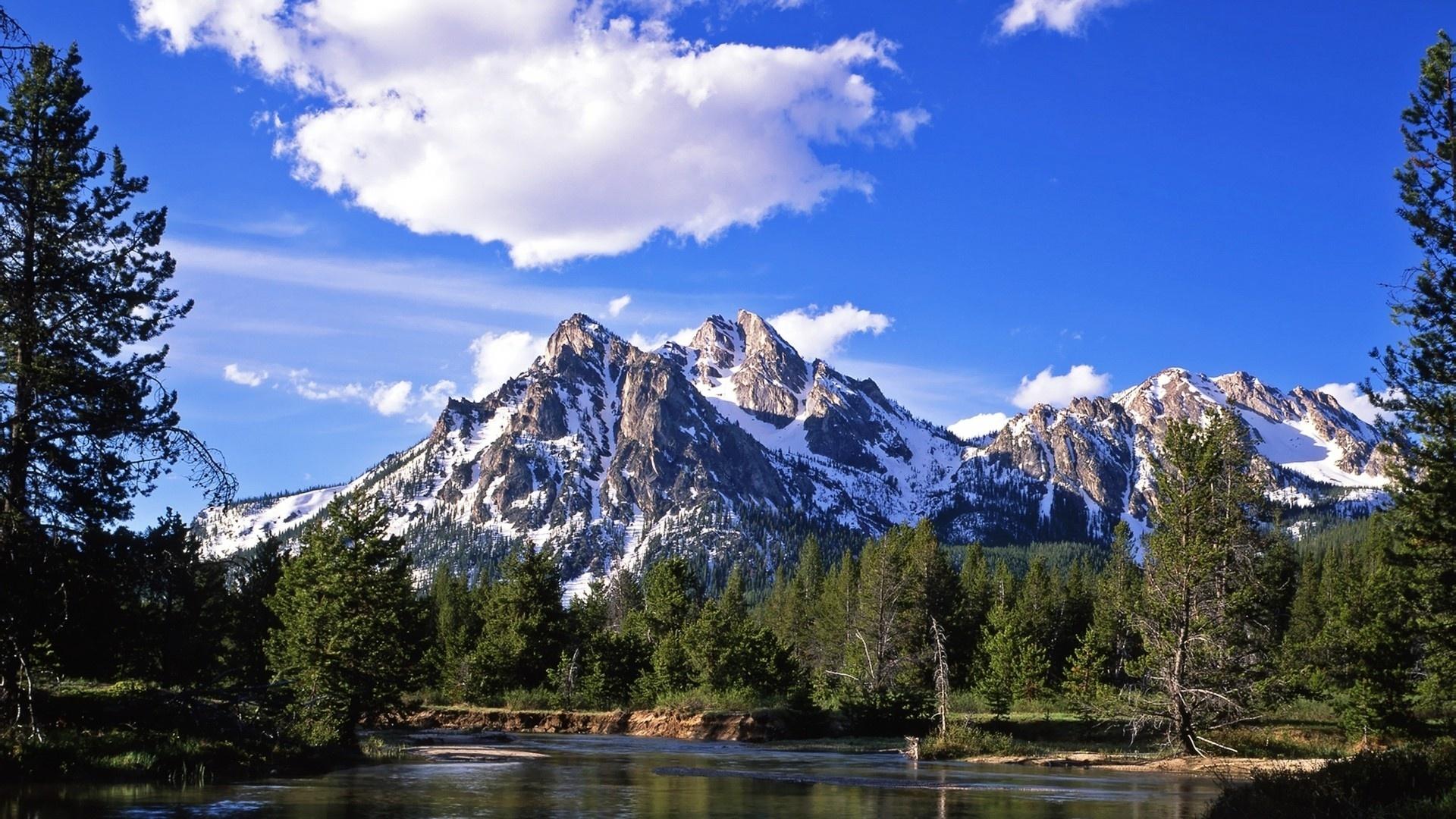 Mountain HD Wallpaper   Background Image   1920x1080   ID ...