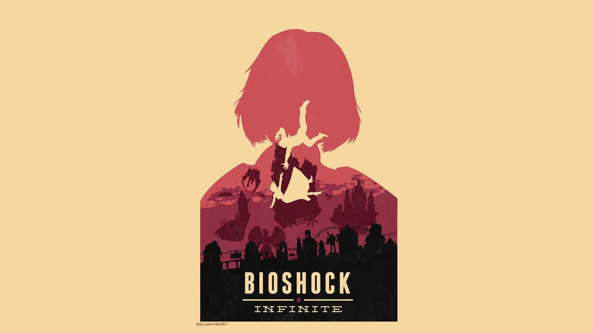 Bioshock Infinite Full HD Wallpaper And Background Image
