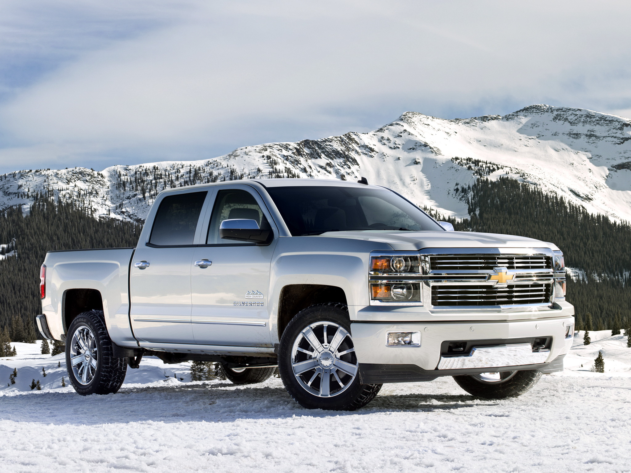 Reaper Silverado >> 3 2013 Chevrolet Silverado High Country Crew Cab HD Wallpapers | Backgrounds - Wallpaper Abyss
