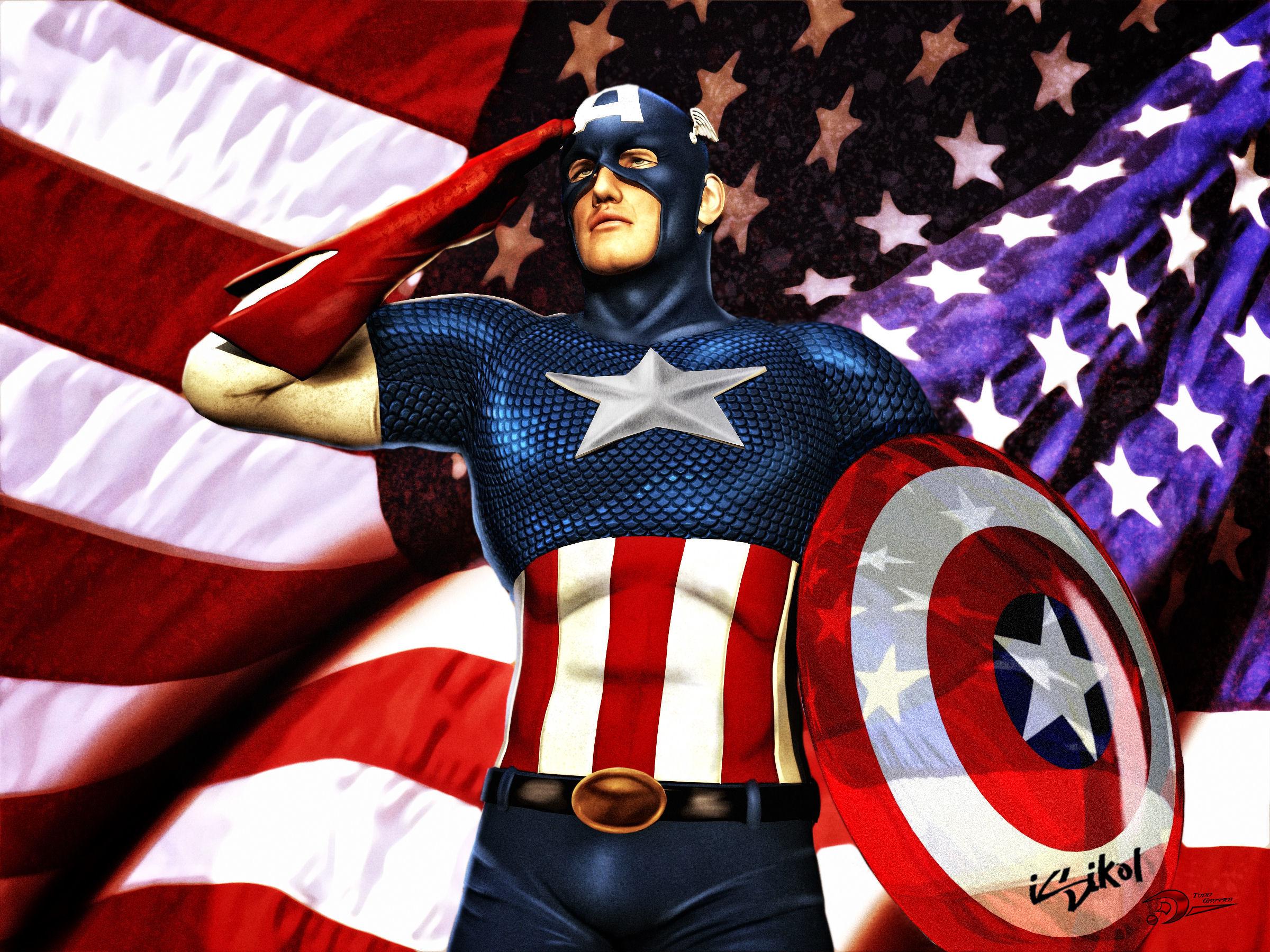 Captain america hd wallpaper background image 2400x1800 id 402964 wallpaper abyss - Image captain america ...