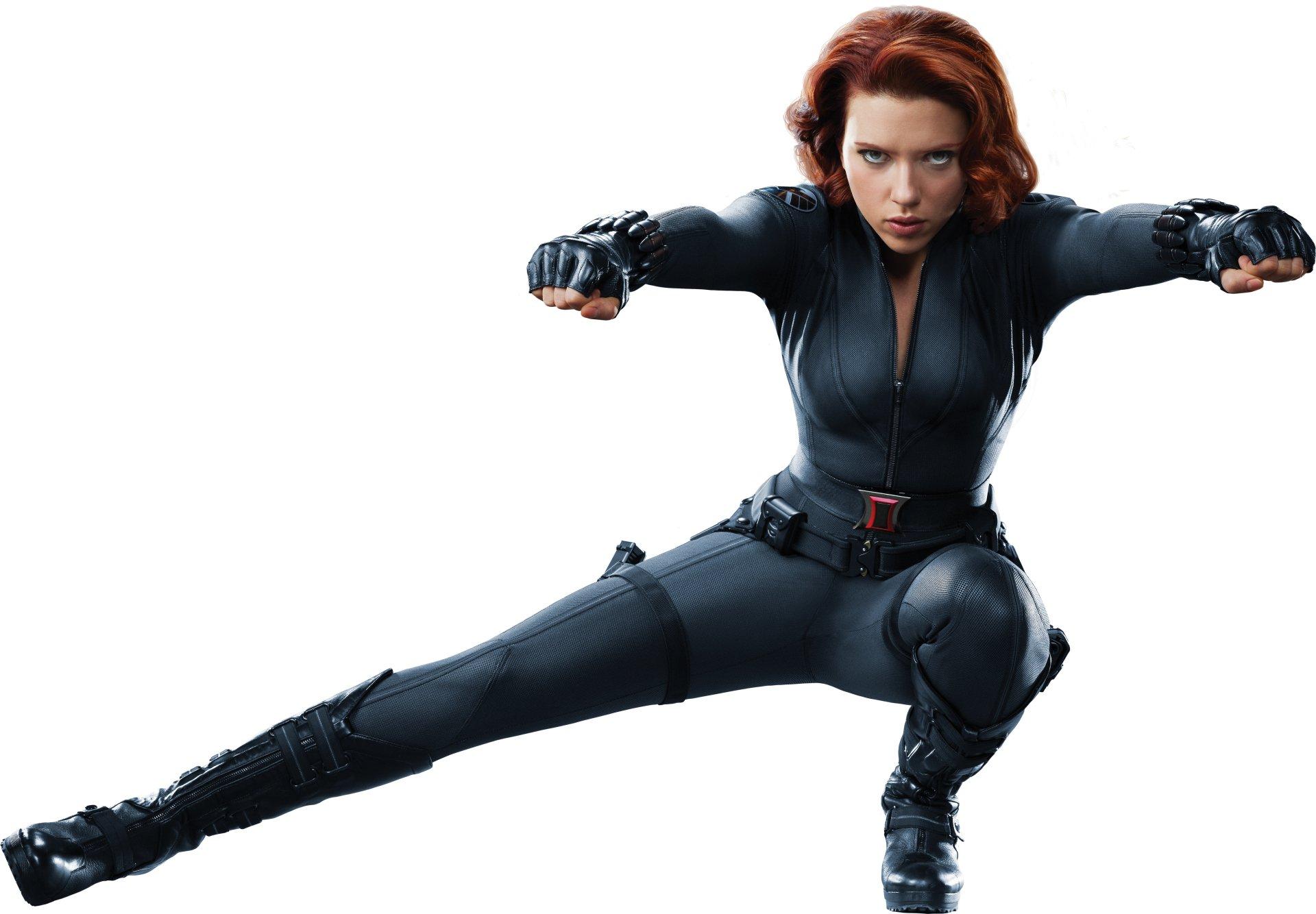 Movie - The Avengers  Scarlett Johansson Wallpaper