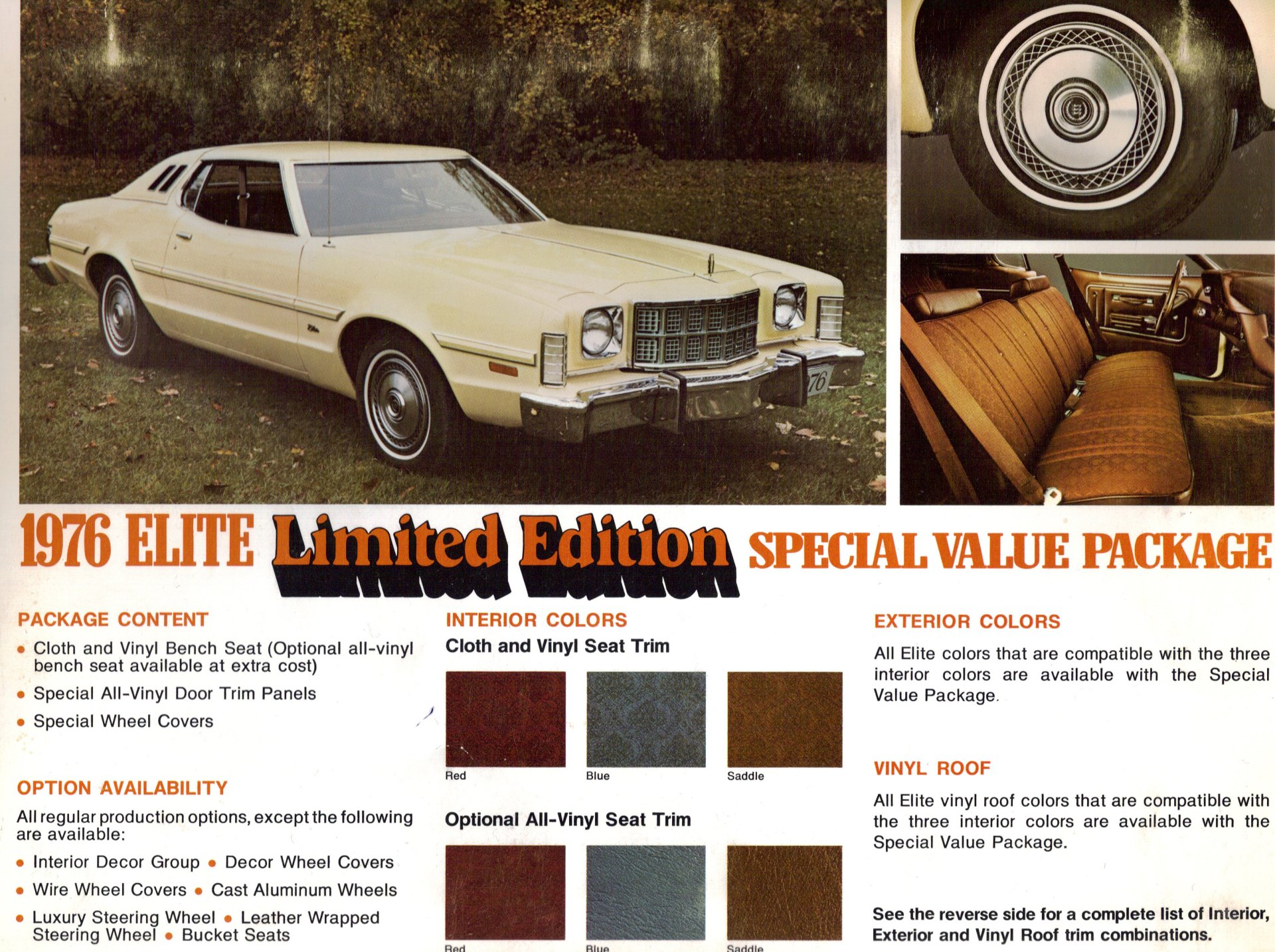 Vehicles - 1976 Ford Elite  Wallpaper