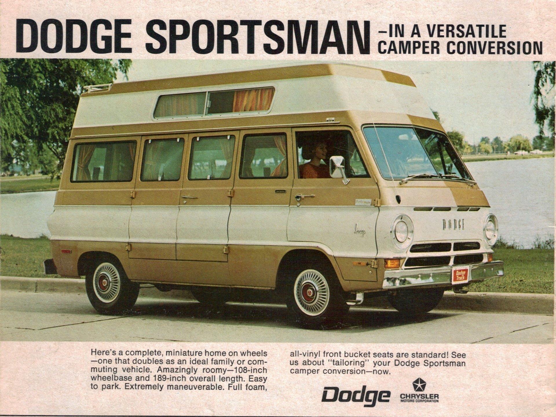 Vehicles - Dodge Sportsman  Wallpaper