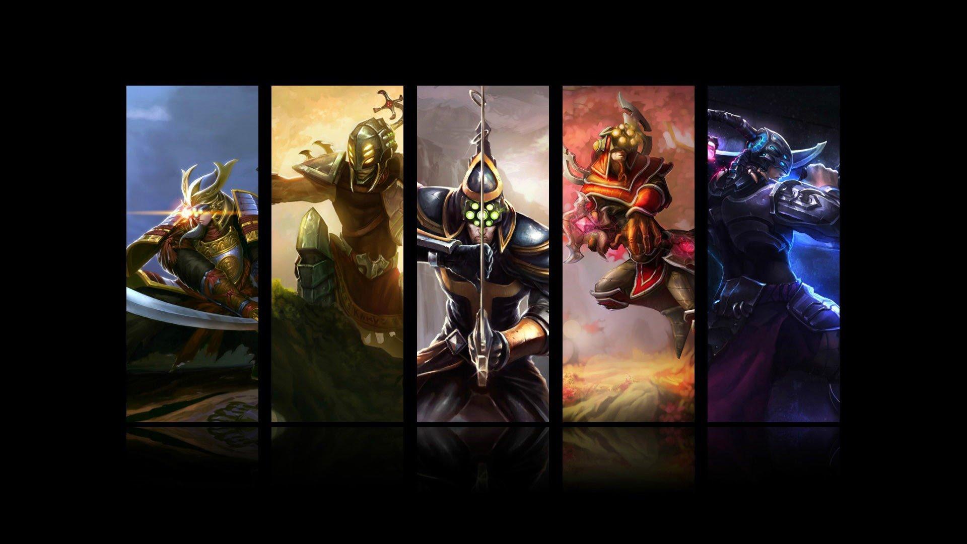 League Of Legends Papel De Parede HD