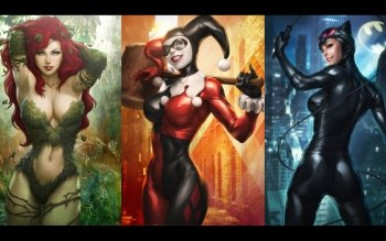 Comics - Gotham City Sirens Wallpapers and Backgrounds ID : 402134