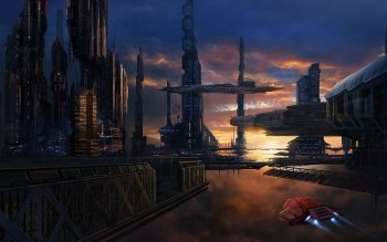Sci Fi - City Wallpapers and Backgrounds ID : 402725