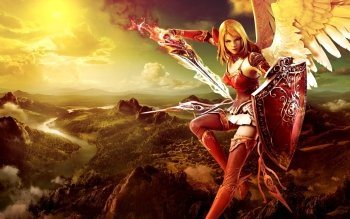 Fantasy - Angel Warrior Wallpapers and Backgrounds ID : 403873