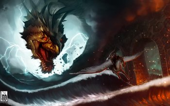 Fantasy - Drachen Wallpapers and Backgrounds ID : 404348
