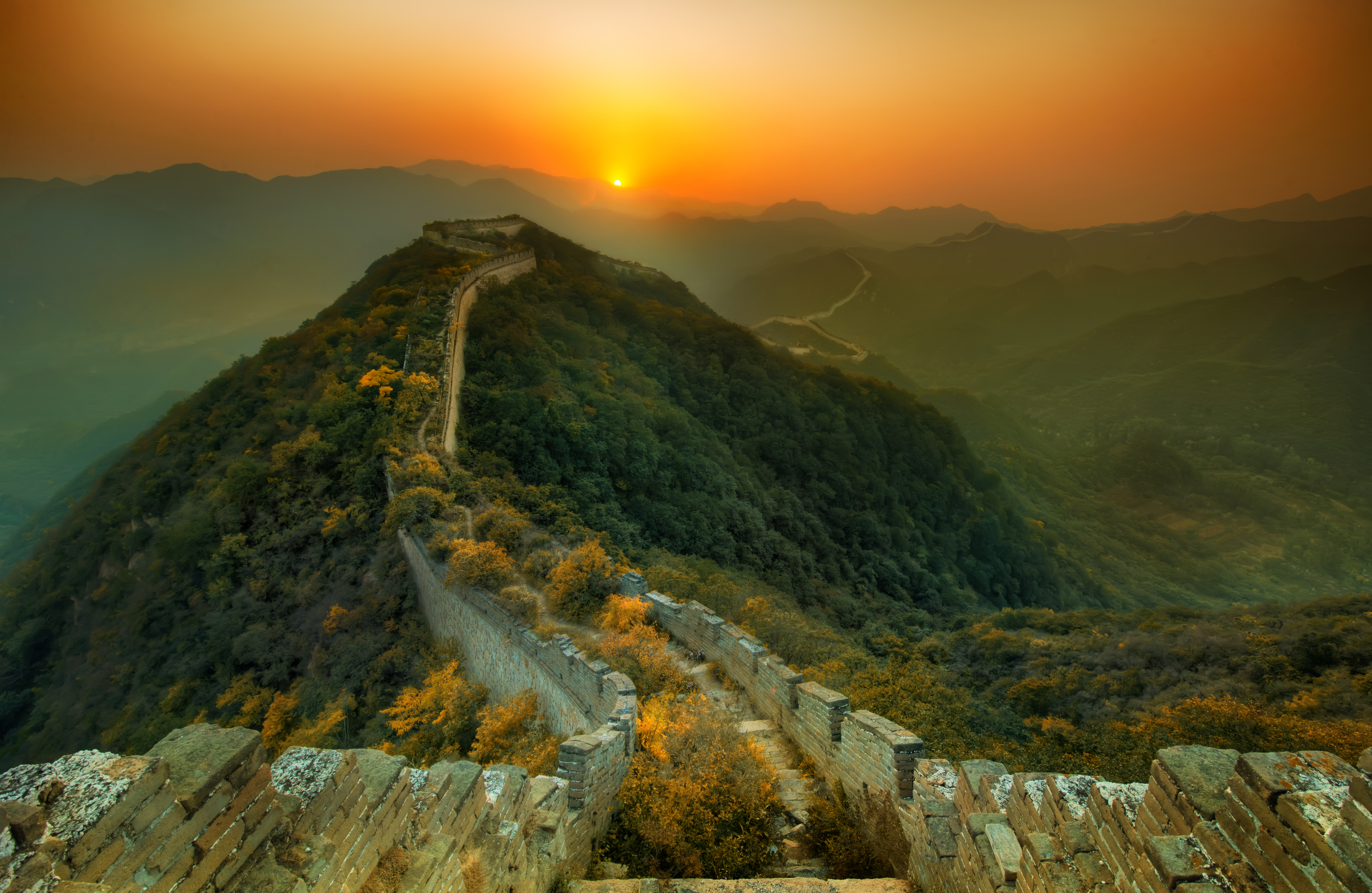 56 Great Wall Of China Hd Wallpapers Background Images