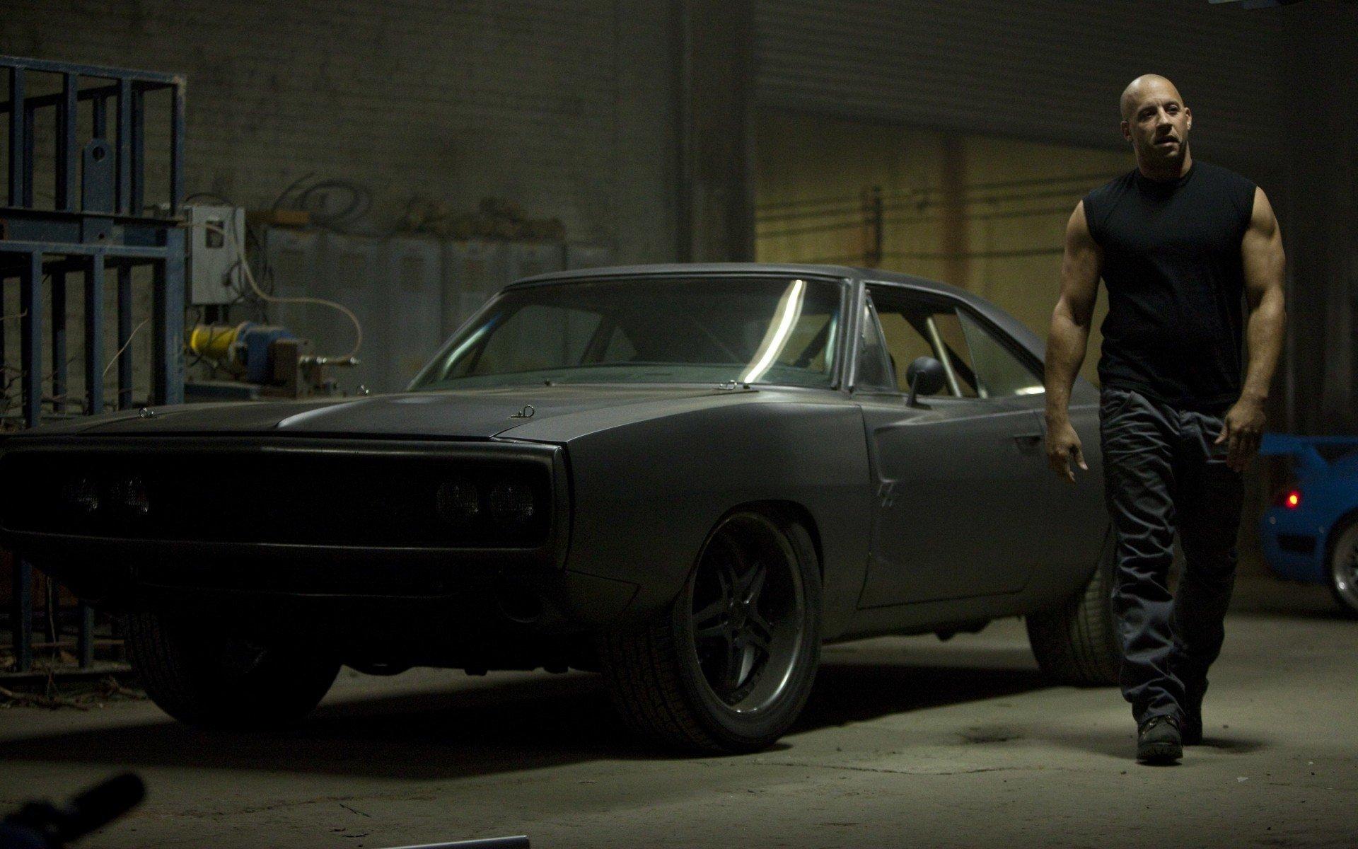 Movie - Fast Five  Vin Diesel Dominic Toretto Wallpaper