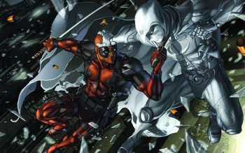 Comics - Deadpool Wallpapers and Backgrounds ID : 406249