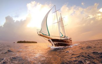 Fahrzeuge - Sailing Ship Wallpapers and Backgrounds ID : 407733