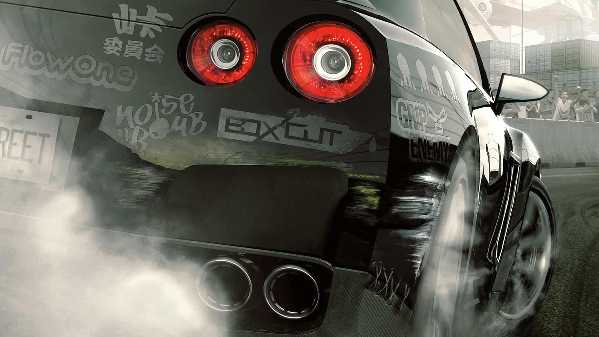 need for speed pro street hd wallpaper | background image