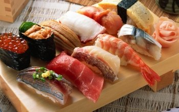 Alimento - Sushi Wallpapers and Backgrounds ID : 408328