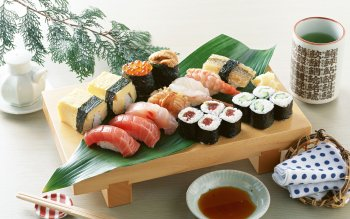 Alimento - Sushi Wallpapers and Backgrounds ID : 408462