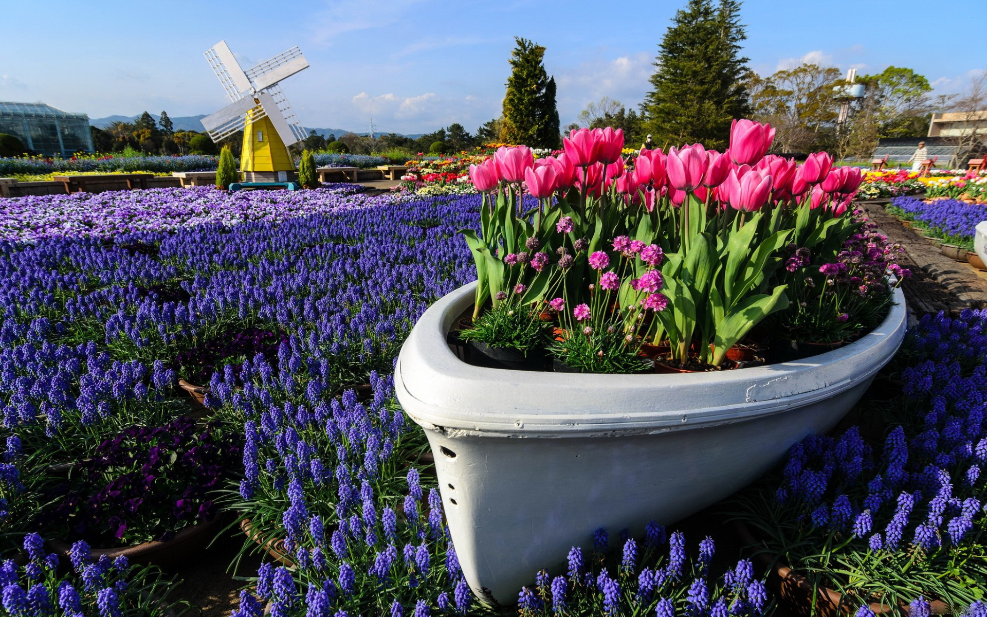 Jardin fonds d 39 cran arri res plan 1920x1200 id 409846 - Fond d ecran jardin anglais ...