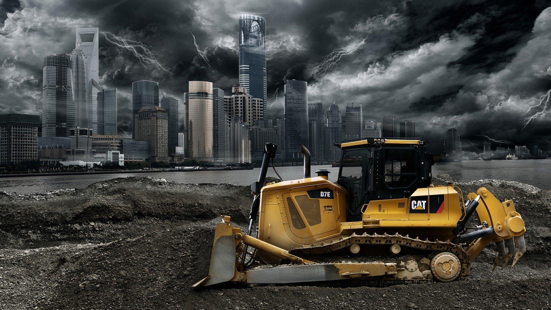 42 Excavator HD Wallpapers