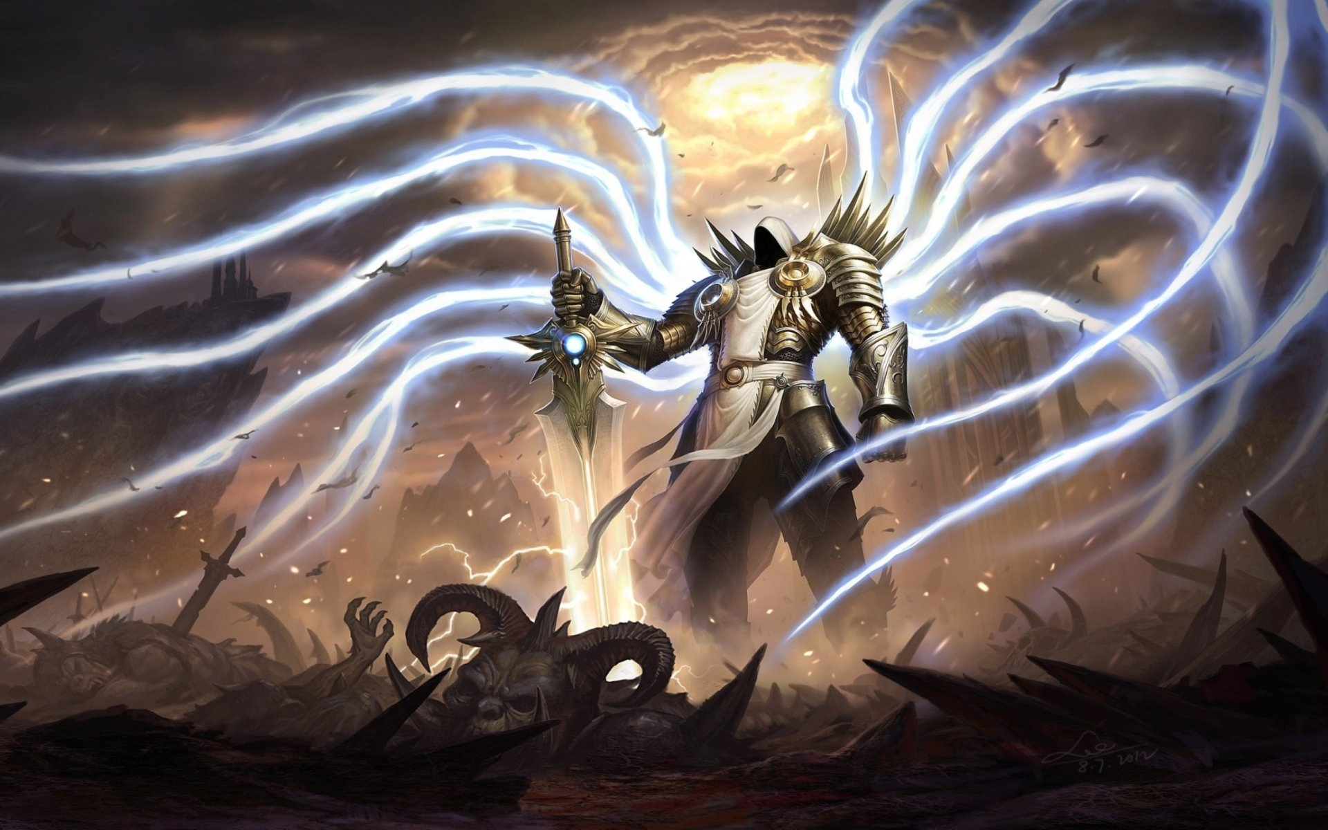 Video Game - Diablo III  Tyrael (Diablo III) Wallpaper