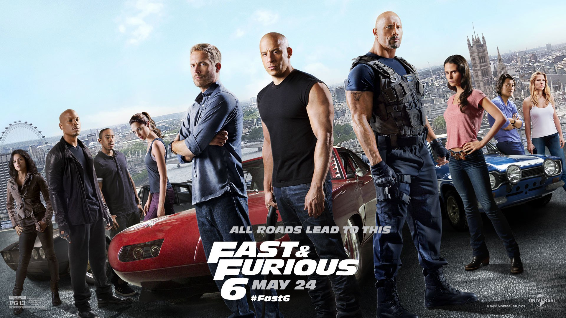 Fast Furious 7 Paul Walker HD Wallpaper