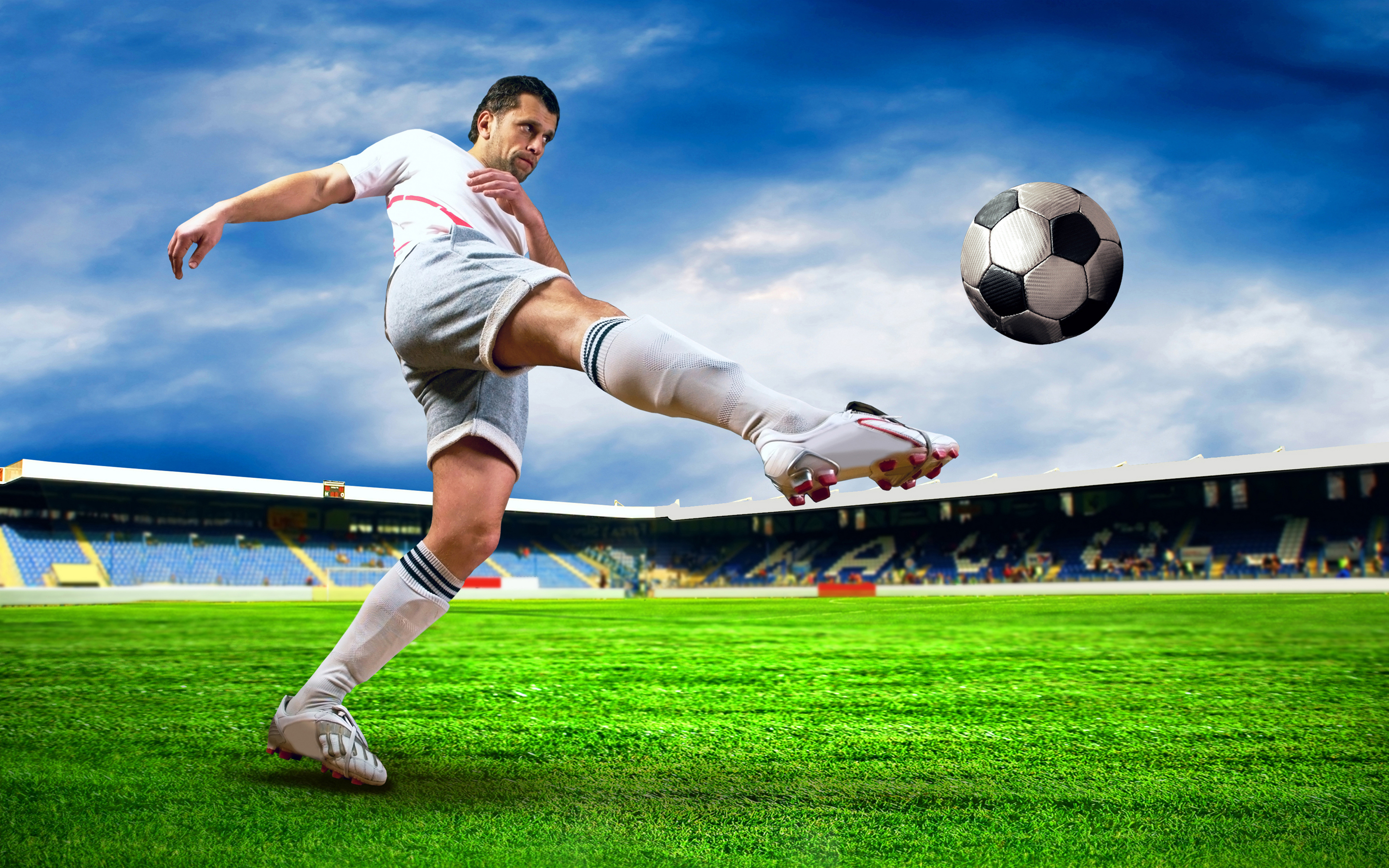 Soccer Full HD Wallpaper and Background Image | 2880x1800 ...