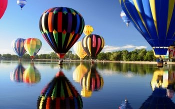 Fahrzeuge - Hot Air Balloon Wallpapers and Backgrounds ID : 411973