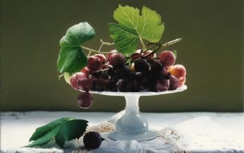 Alimento - Grapes Wallpapers and Backgrounds ID : 412603