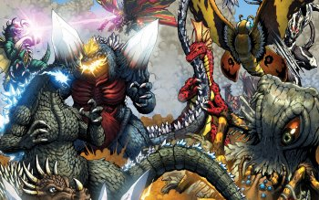 2 Godzilla Rulers Of Earth Fondos De Pantalla Hd Fondos