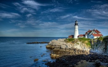 Man Made - Lighthouse Wallpapers and Backgrounds ID : 413316