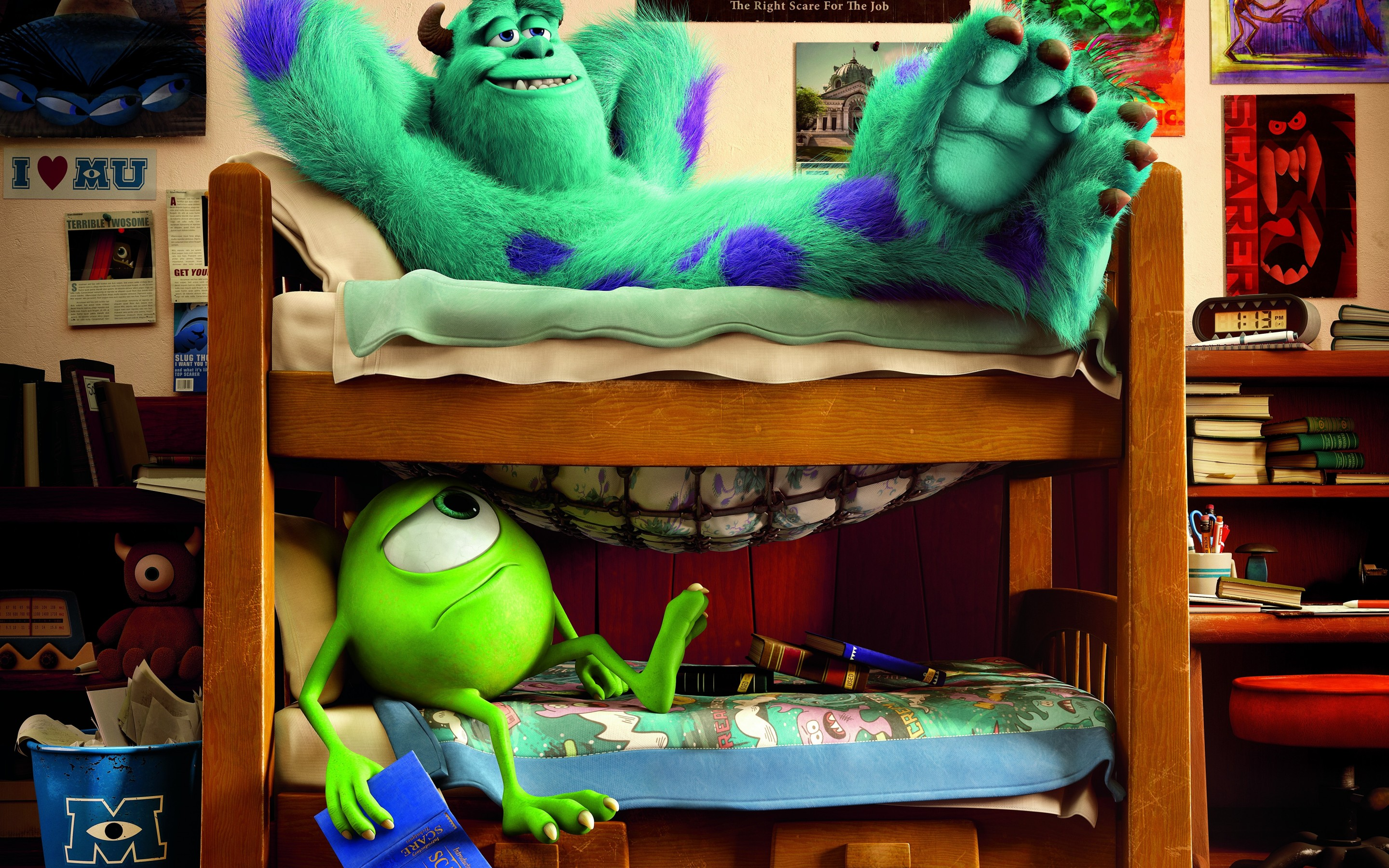 Monsters university full hd wallpaper and background image movie monsters university james p sullivan mike wazowski wallpaper voltagebd Images