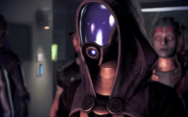 Video Game Mass Effect 3 Mass Effect Tali'Zorah Samara HD Wallpaper | Background Image