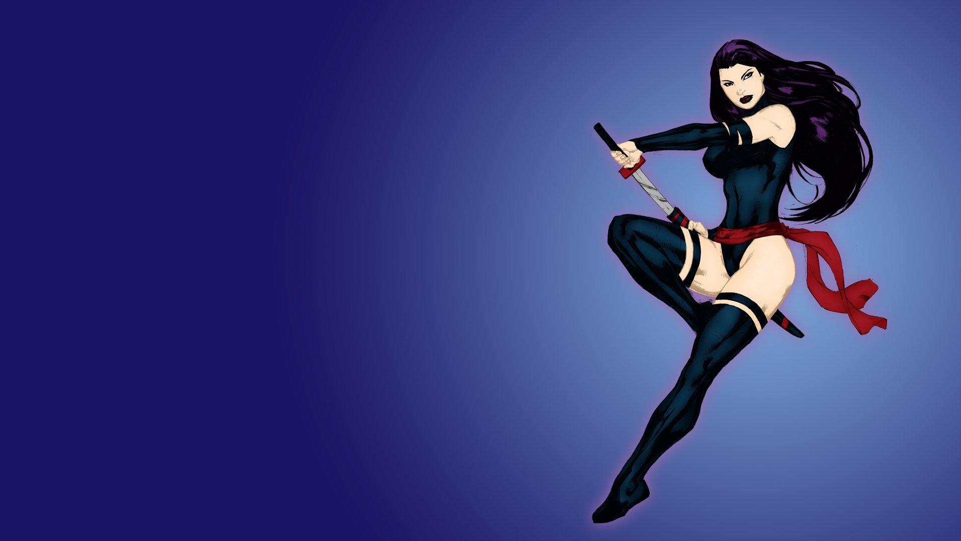 Psylocke Elizabeth Betsy Braddock Full HD Wallpaper And
