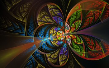 Abstract - Fractal Wallpapers and Backgrounds ID : 416903