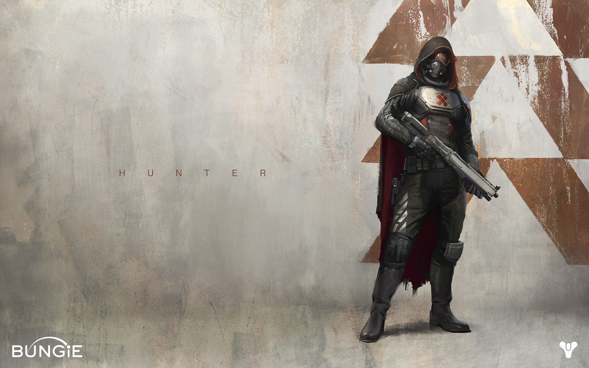 Bungie destiny hunter wallpaper