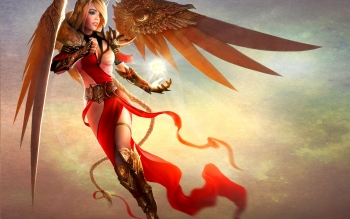 Fantasy - Angel Warrior Wallpapers and Backgrounds ID : 418026