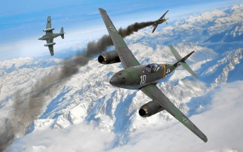 Military - Messerschmitt ME 262 Schwalbe Wallpapers and Backgrounds ID : 418272