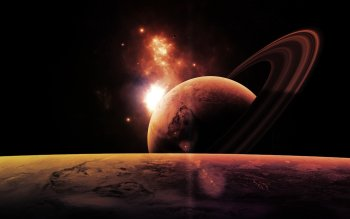 Ciencia Ficción - Planet Rise Wallpapers and Backgrounds ID : 418512