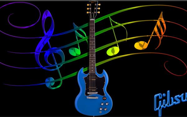 Music Guitar Gibson HD Wallpaper | Background Image