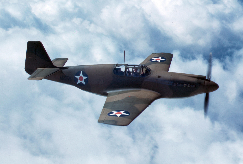 Military North American P 51 Mustang Wallpaper