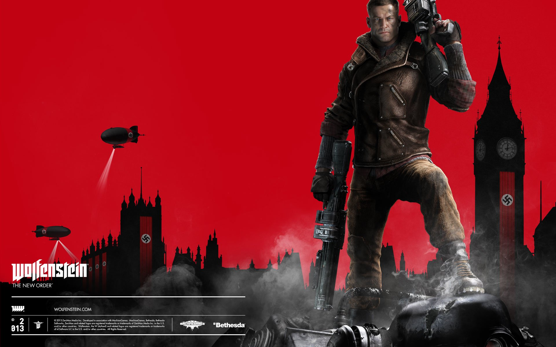 67 Wolfenstein The New Order Hd Wallpapers Background Images