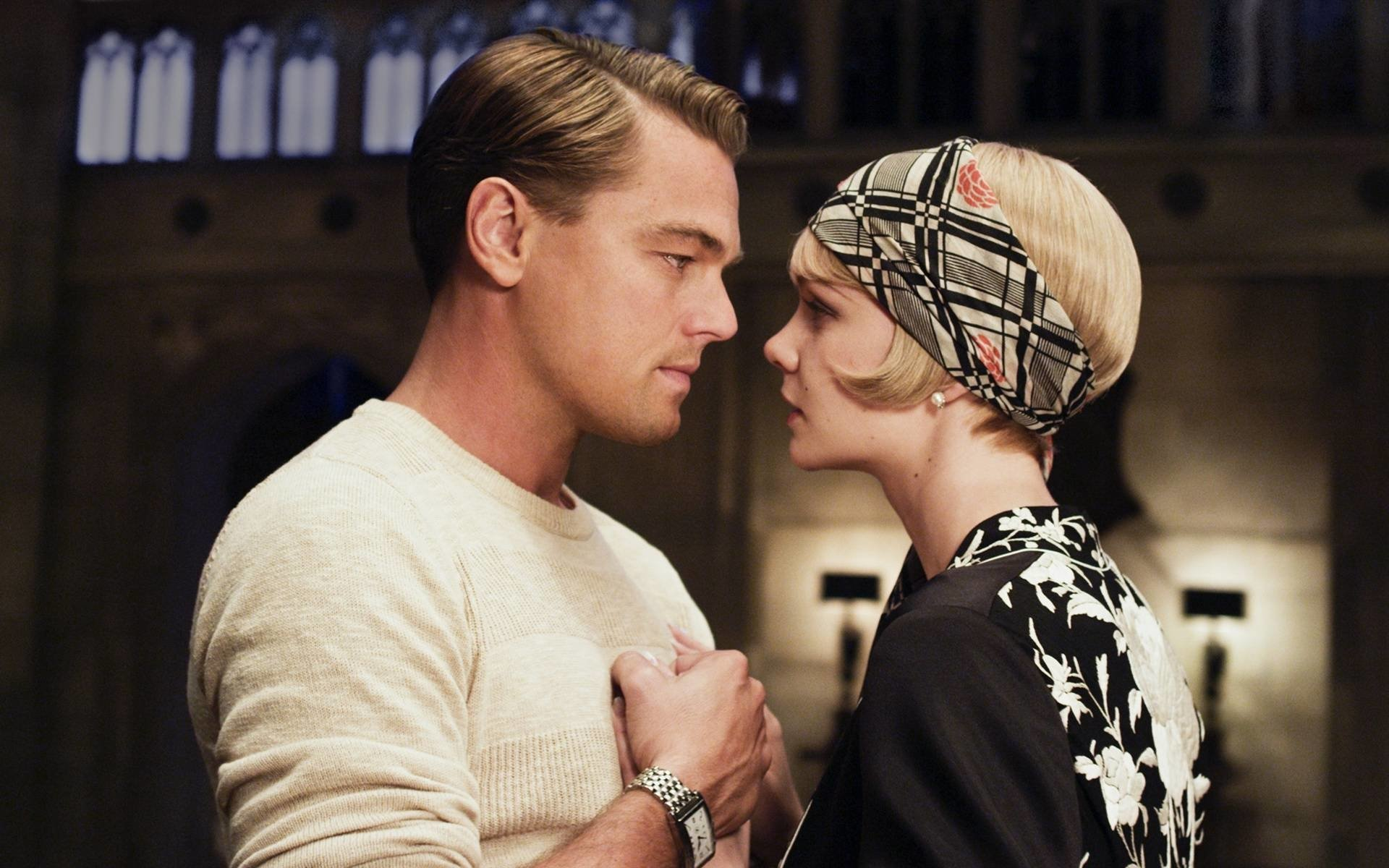 Movie - The Great Gatsby  Carey Mulligan Leonardo Dicaprio Wallpaper