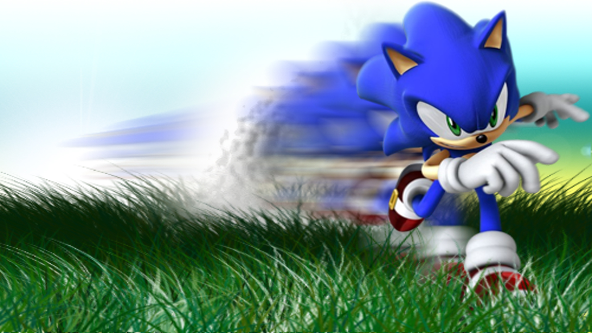 wallpaper sonic blue - photo #34
