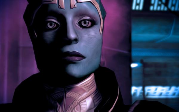 Video Game Mass Effect 2 Mass Effect Samara HD Wallpaper | Background Image