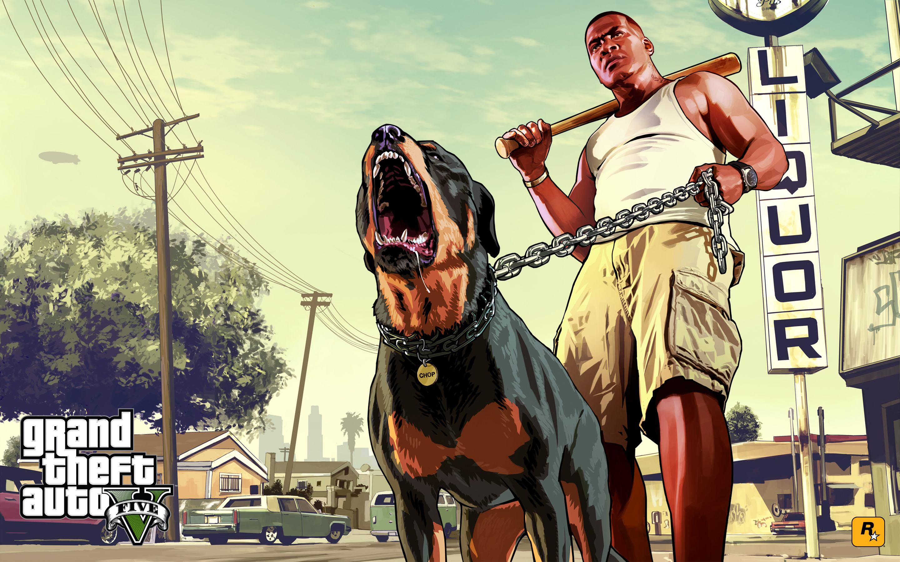 Grand Theft Auto V HD Wallpaper | Background Image | 2880x1800 | ID:421641 - Wallpaper Abyss