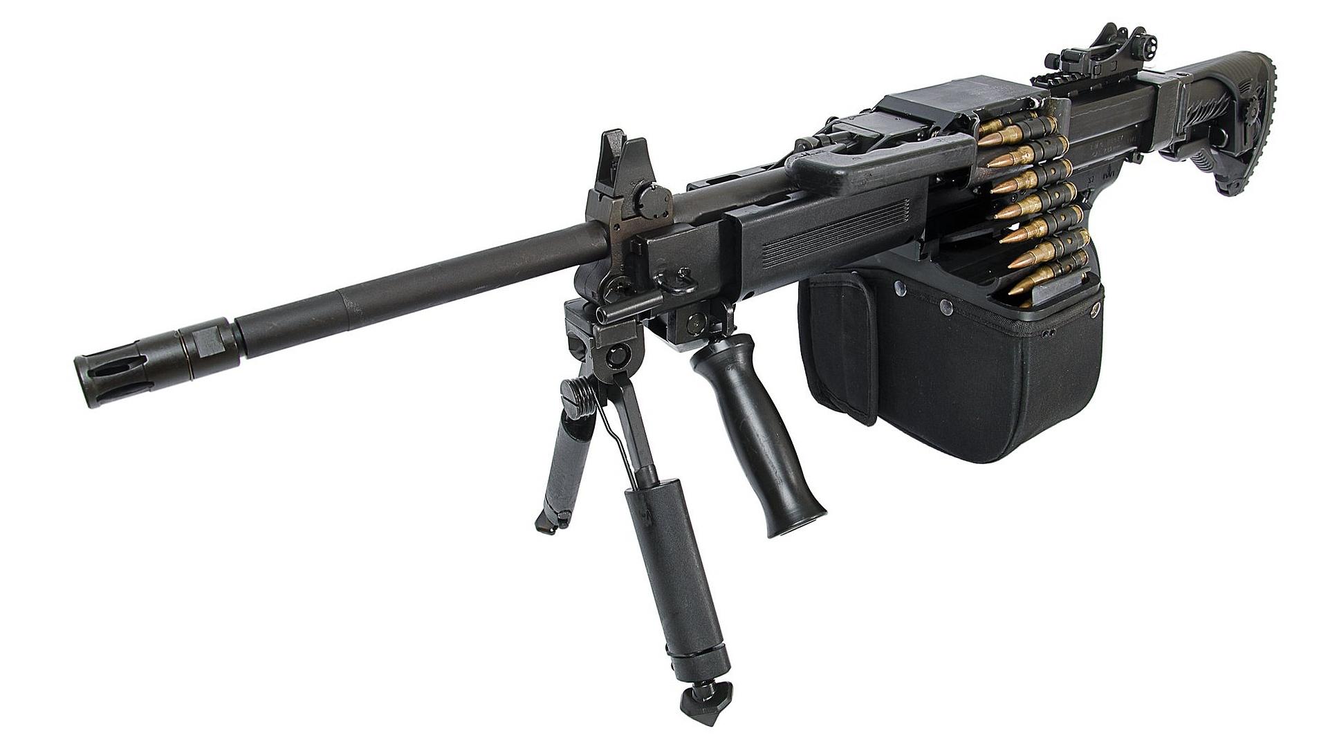 Negev Ng7 Machine Gun Full HD Wallpaper And Background Image
