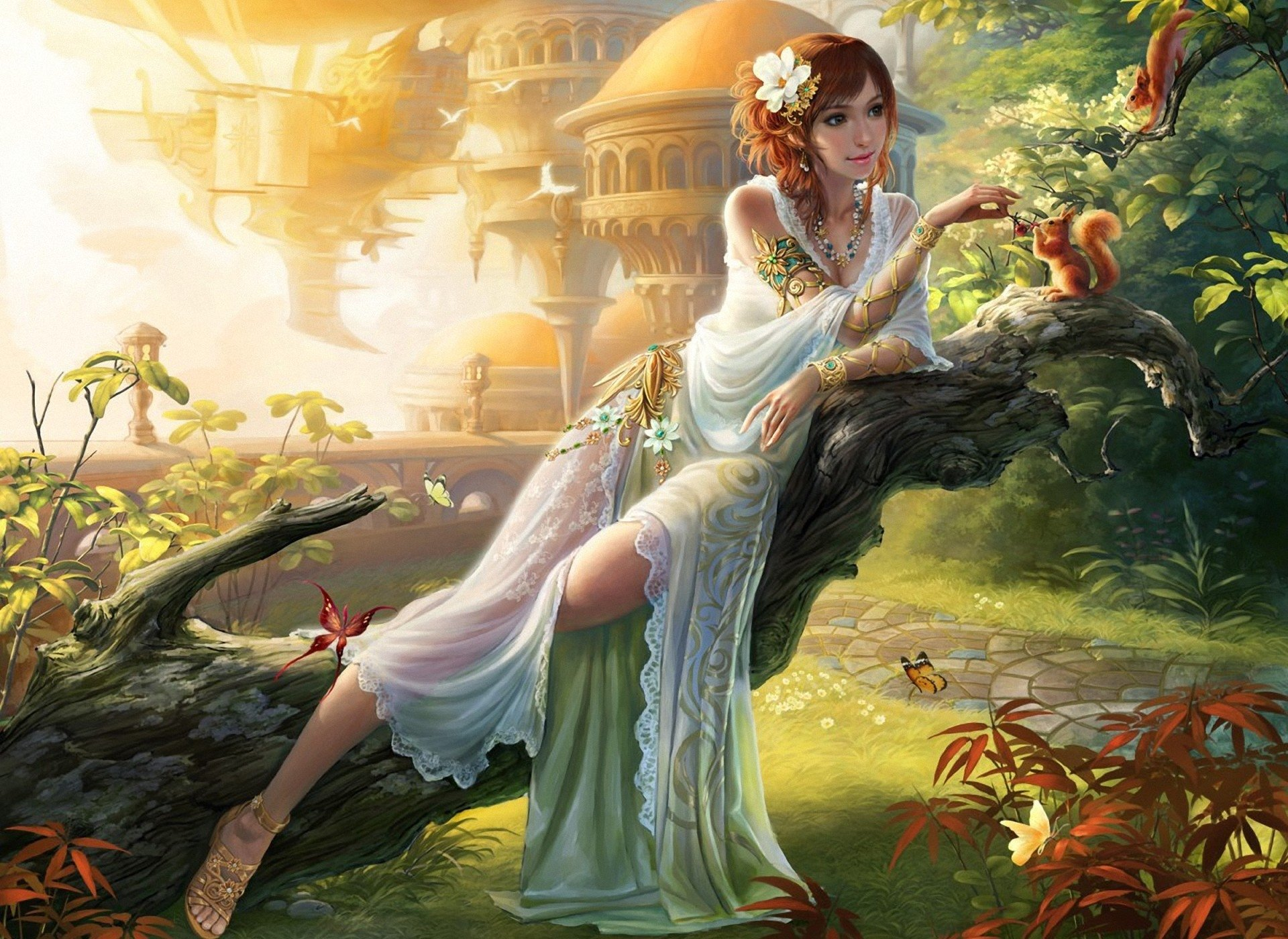 nature goddess full hd wallpaper and background