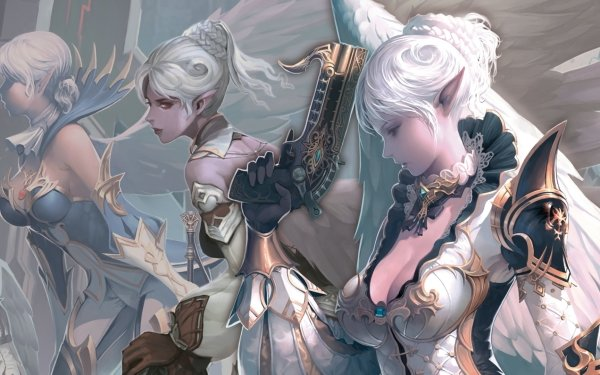 Video Game Lineage II Lineage HD Wallpaper | Background Image